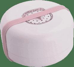 SUAVINEX Bentoo - Set komBINOvatelných skládacích mističek +4m hello fox - růžová