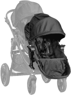 BABY JOGGER Dodatkowe siedzisko - Black