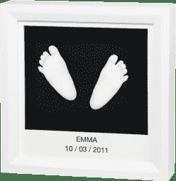 BABY ART Rámček pre 3D odtlačok Window Sculpture Frame White