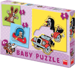 DINO Baby Puzzle Krtko