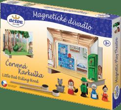 DETOA Divadlo Červená Karkulka magnetické – dřevo