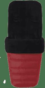 BABY JOGGER Pokrowiec na nóżki City Mini - Crimson