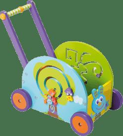 BOIKIDO Drewniana zabawka interaktywna Mój pierwszy pojazd Zajączek,