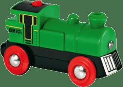 BRIO Elektronická lokomotíva zelená