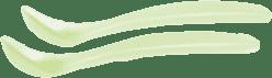 SUAVINEX Lyžičky 2ks - zelené
