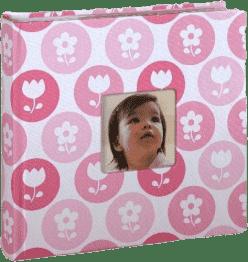 PEARHEAD fotoalbum dziecięcy na 200 zdjęć, różowy