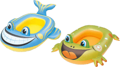 BESTWAY Dmuchany ponton zwierzątko (żaba / ryba)