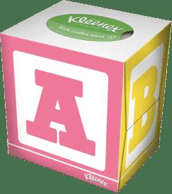 KLEENEX papierowe chusteczki dziecięce do nosa (56 szt.) (Feedo klub)