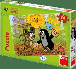 DINO Doskové Puzzle Krtko 24ks
