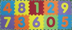 LUDI Puzzle penové 140x56 cm čísla