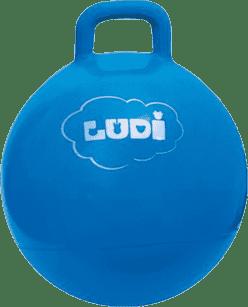 LUDI Skákacie loptu 45cm modrý