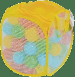 LUDI Loptičky rôznofarebné 75 ks