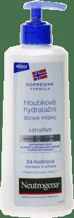 NEUTROGENA mléko tělové citlivá pleť 400 ml