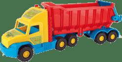 WADER Auto Super Truck wywrotka plastik 75 cm w siatce Wiek 1+