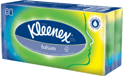 KLEENEX papierové vreckovky BALSAM 8ks