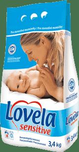 LOVELA Sensitive 3,4kg - prací prostriedok