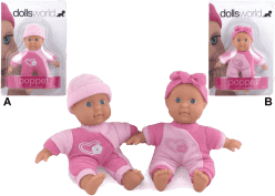 DOLLS WORLD Bábika Poppet