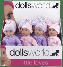 DOLLS WORLD Molly spiace bábika