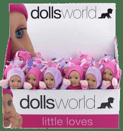 DOLLS WORLD Panenka brouček