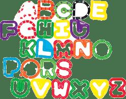 SASSY Spojovací písmená A-Z