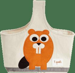3 SPROUTS Torba na akcesoria dla dziecka Beaver
