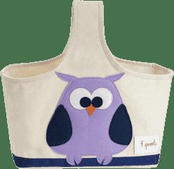 3 SPROUTS Taška na kojenecké potřeby Owl