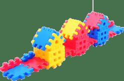 VISTA Stavebnica Blok 1 - plast 36ks