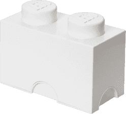 LEGO® Úložný box veľkosť 2 biela