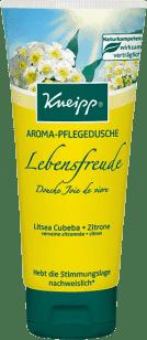 KNEIPP Sprchový balzam Radosť zo života - Litsea cubeba, citrón 200ml