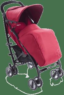 BABYPOINT Lotus Wózek – Czerwony