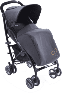 BABYPOINT Lotus Wózek – Czarny