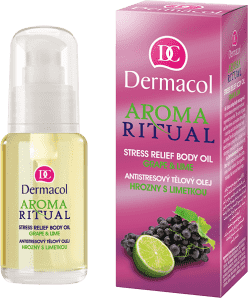 DERMACOL Aroma Ritual – Olejek do ciała winogrona i limonka 50 ml
