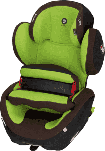 KIDDY Phoenixfix Detská autosedačka Pro 2 - Dublin green (9-18kg)