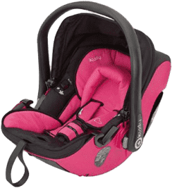 KIDDY Autosedačka Evolution Pro 2 - pink (0-13kg)