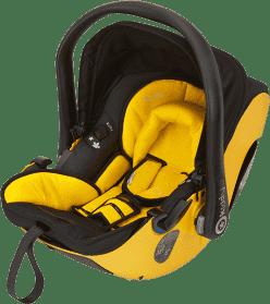 KIDDY Fotelik samochodowy Evolution Pro2 – sunshine (0-13kg)