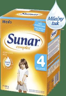 SUNAR Complex 4 (600g) NOVÝ - dojčenské mlieko
