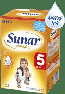 SUNAR Complex 5 (600g) NOVÝ – kojenecké mléko