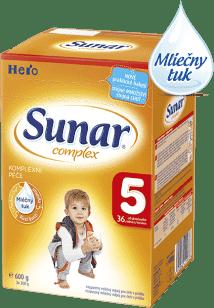 SUNAR Complex 5 (600g) NOVÝ - dojčenské mlieko