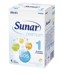 SUNAR Premium 1 (600 g) - kojenecké mléko