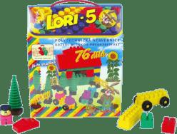 LORI Stavebnice LORI 5 - plast 76ks