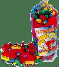 LORI Stavebnica LORI 500 balenie pre škôlky - plast
