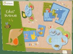 AVENUE MANDARINE Zestaw gier dla dzieci od lat 2
