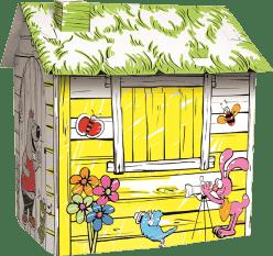 BINO Kartónový domček - farma