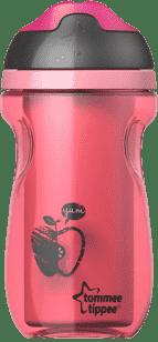 TOMMEE TIPPEE Nieprzeciekający kubek termiczny Explora 260ml 12m+ - różowy