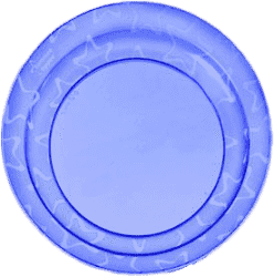 TOMMEE TIPPEE Misky 3 ks 6m+ Basic-modrá