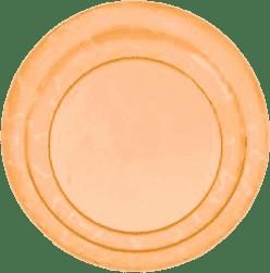TOMMEE TIPPEE Talířky 3 ks 12m+ Basic-oranžová