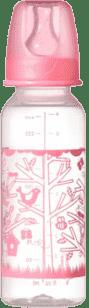 TOMMEE TIPPEE Butelka do karmienia 2 szt. 250ml 3msc.+ Basic-dziewczynka
