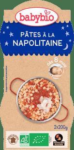 BABYBIO večerné menu Neapolskej cestoviny 2x200g