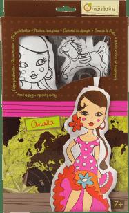 AVENUE MANDARINE Lalka do malowania – Analia