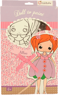AVENUE MANDARINE Lalka do malowania – Alba